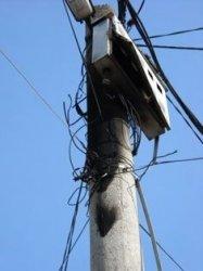 Резултат с изображение за електромер на стълба