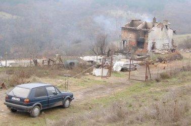 """Останките от къщата на Чакъра. Снимка: Христо Христов, """"Правен свят"""""""