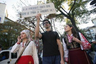 Българи съзират руска ръка зад антишистовите протести