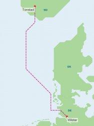 Норвегия и Германия ще строят подводен далекопровод през Северно море