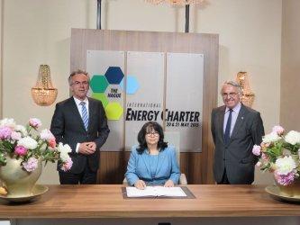 Международна енергийна харта подписаха 70 държави, сред които и България