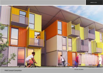 В София ще се строи хотел от стари морски контейнери