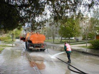 Улиците в София ще се мият всеки месец догодина
