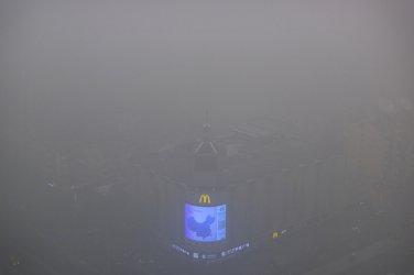 Замърсяването на въздуха в Пекин 35 пъти над безопасните нива