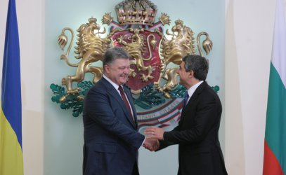 Плевнелиев прие Порошенко: В Черно море виждаме триумфална арка на нестабилност