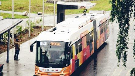 Женева пуска електробуси между летището и предградията си