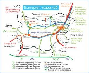 """Нова проектна компания с до 50% стратегически инвеститор ще строи газовия хъб """"Балкан"""""""