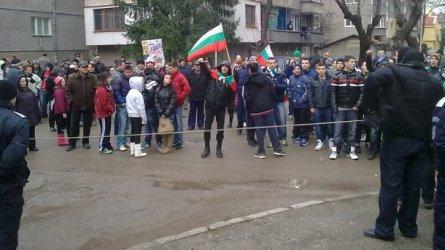 Жилищна сграда вместо обещаната детска площадка предизвика протест и в Бургас