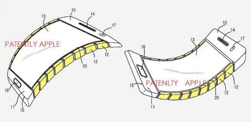 Епъл регистрира патент за сгъваем смартфон