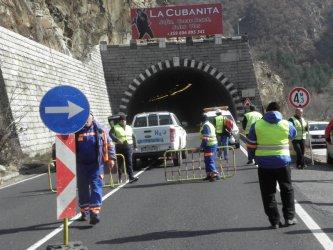 Най-дългият тунел на Кресненското дефиле с голяма пукнатина
