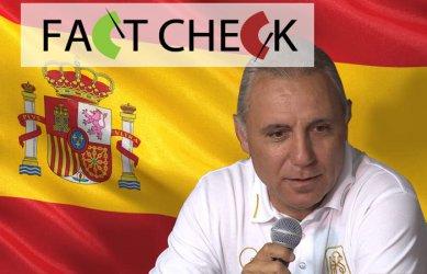 Вярно или не? Христо Стоичков: Не съм почетен консул в Испания от 14 месеца
