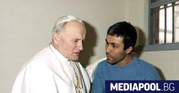 Срещата между Папа Йоан Павел Втори и извършителя на атентата