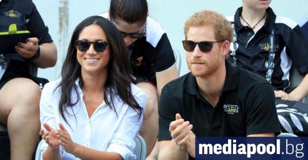 Меган Маркъл и принц Хари Британският принц Хари, който е