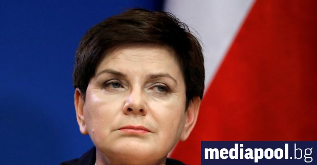 Беата Шидло Полската премиерка Беата Шидло е пуснала туит, с