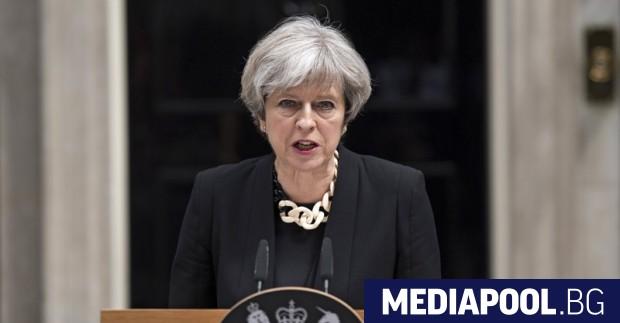 Тереза Мей Очаква се британската премиерка Тереза Мей да извърши