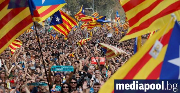 При засилени мерки за сигурност в Каталуния се провеждат регионални