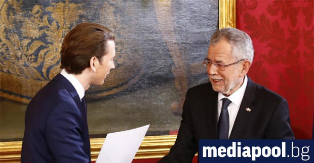 Новото австрийско правителство начело с 31-годишния Себастиан Курц положи клетва