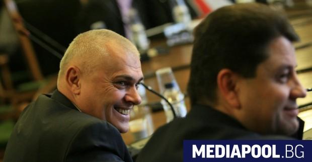 Валентин Радев и заместникът му Красимир Ципов във вътрешната комисия.