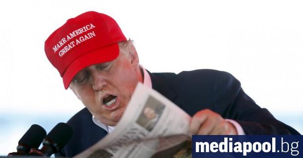 Снимка: Предстоящият медицински преглед на Тръмп даде повод за безкрайни спекулации