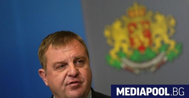 Лидерът на ВМРО Красимир Каракачанов ВМРО призова държавата да не