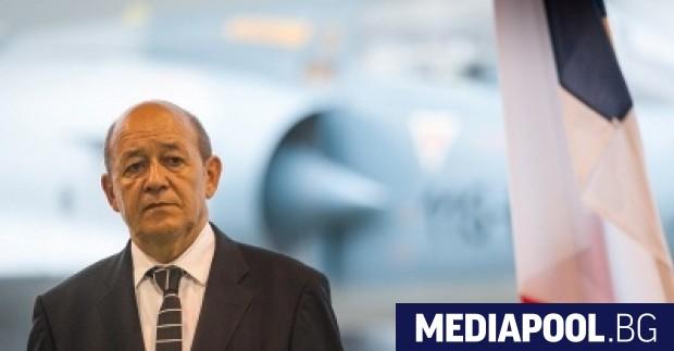 Жан-Ив Льо Дриан Френският външен министър Жан-Ив Льо Дриан заяви,