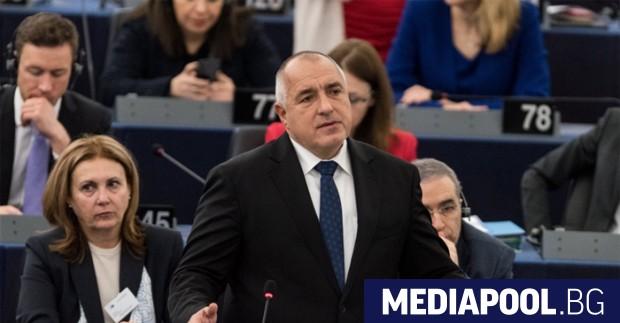 Премиерът Бойко Борисов се обяви пред Европейския парламент за