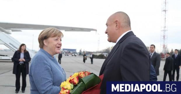 Канцлерът на Германия Ангела Меркел похвали премиера Бойко Борисов за