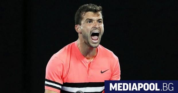 Григор Димитров се класира за четвъртфиналите на Откритото първенство на