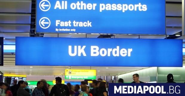 Нетната миграция от ЕС към Великобритания е намаляла до 90