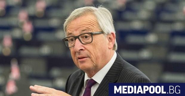 Жан-Клод Юнкер Председателят на Европейската комисия Жан-Клод Юнкер е обсъдил