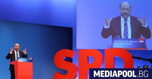 Мартин Шулц Председателят на Германската социалдемократическа партия (ГСДП) Мартин Шулц