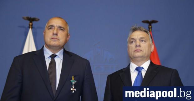 Борисов и Орбан, сн. БГНЕС Унгарският министър-председател ще бъде на