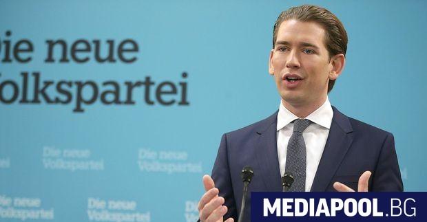 Канцлерът на Австрия Себастиан Курц пристига във вторник на визита