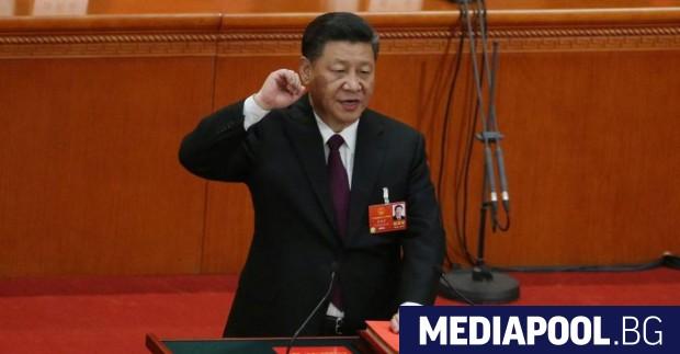 Си Цзипин, сн. ЕПА/БГНЕС Си Цзинпин беше преизбран от парламента