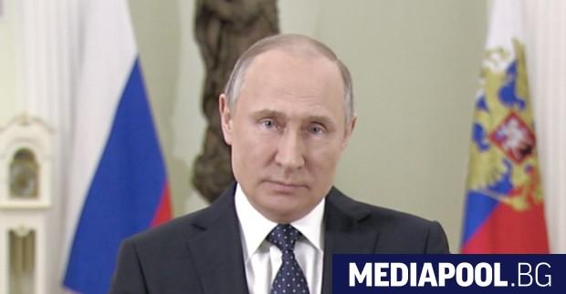 Президентът Владимир Путин призова руските граждани да гласуват в неделя