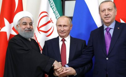 Ердоган, Путин и Рохани обсъждат ситуацията в Сирия в Анкара