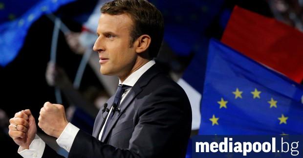 Еманюел Макрон Френският президент Еманюел Макрон каза, че ударите на