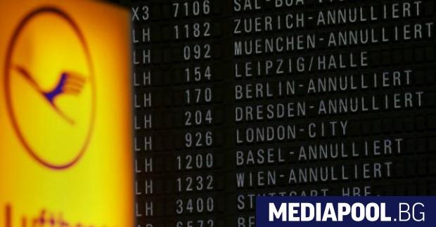 Стотици полети са отменени на авиокомпаниите
