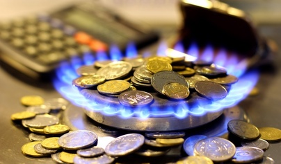 Газът поскъпва с 2.6% от 1 април