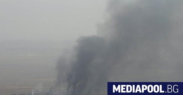 Иракските военновъздушни сили нанесоха смъртоносни удари по позиции на джихадистката