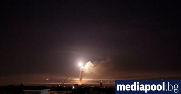 Израел е поразил десетки ирански военни цели в Сирия в
