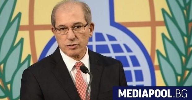 Ахмет Юзюмджу Организацията за забрана на химическите оръжия (ОЗХО) категорично