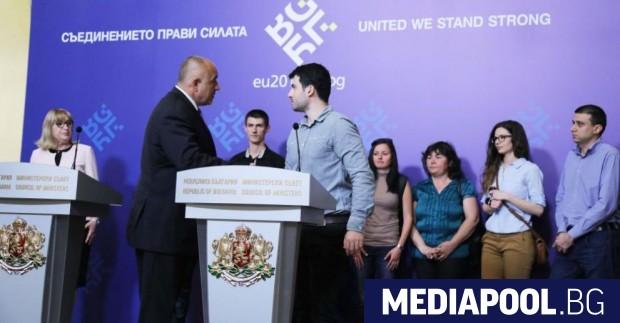 Борисов се срещна с Желяз Андреев в Министерския съвет, сн.