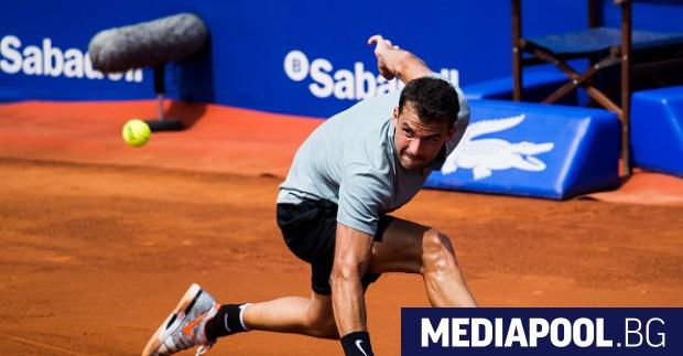 Григор Димитров загуби на четвъртфиналите на турнира в Барселона от