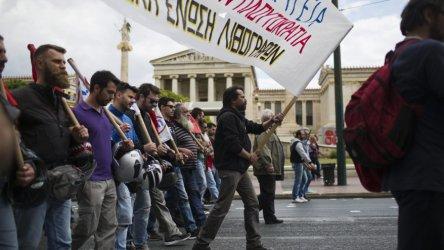 Стачка парализира транспорта в Гърция