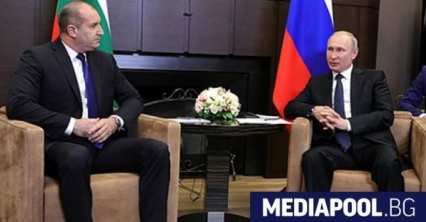 Румен Радев и Владимир Путин Какво стои зад българския завой