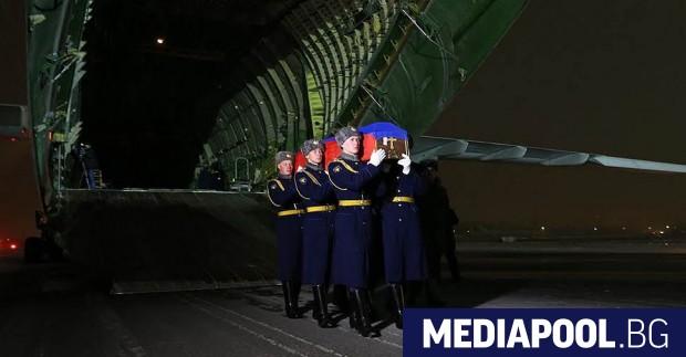 Сн. Министерство на отбраната на РФ, архив Четирима руски военни