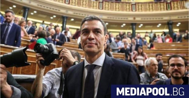 Педро Санчес Испанското правителство на социалиста Педро Санчес - което