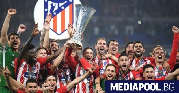 Снимка: Sportal.bg Атлетико Мадрид триумфира за трети път във втория