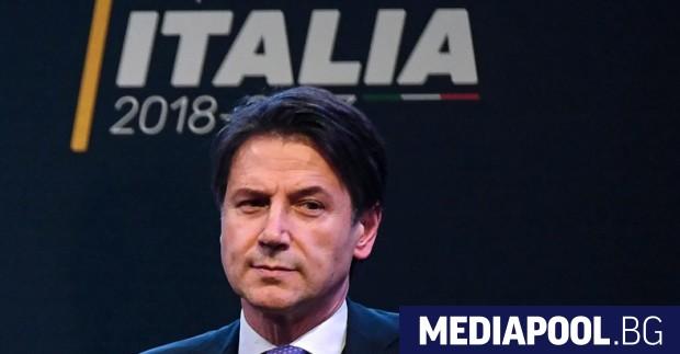 Бъдещият премиер Джузепе Конте Следващата седмица в Италия се очаква